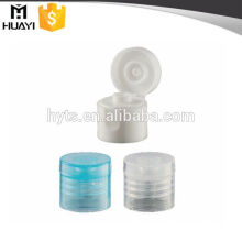 white transparent pp material flip off cap